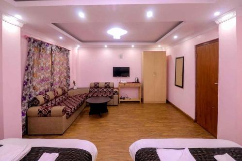 Family Room Apartment with Shared Kitchen, Bathroom & Balcony - SH