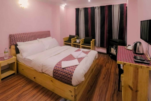 Double Room  with Private Bathroom & Balcony - SH